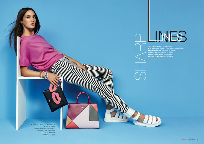 TextilMitteilungen, Sharp Lines