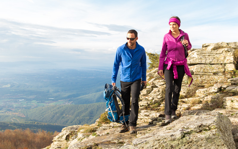 ALDI Süd, Walking in the mountains