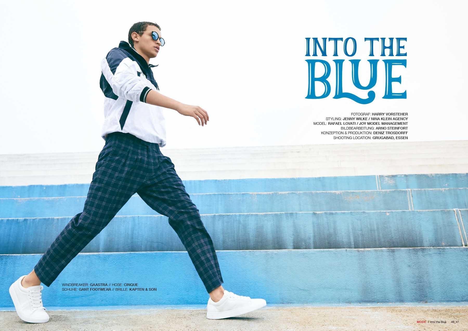 TextilMitteilungen, Into the Blue