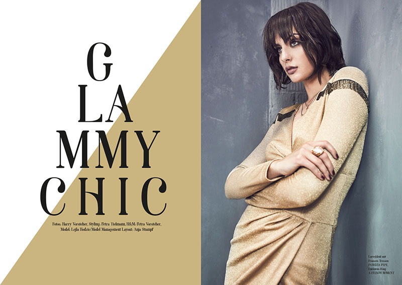 "Editorial ""Glammy Chic"""