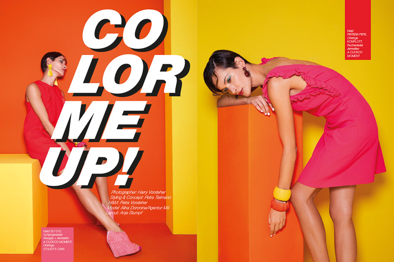 "Editorial ""Color Me Up!"""