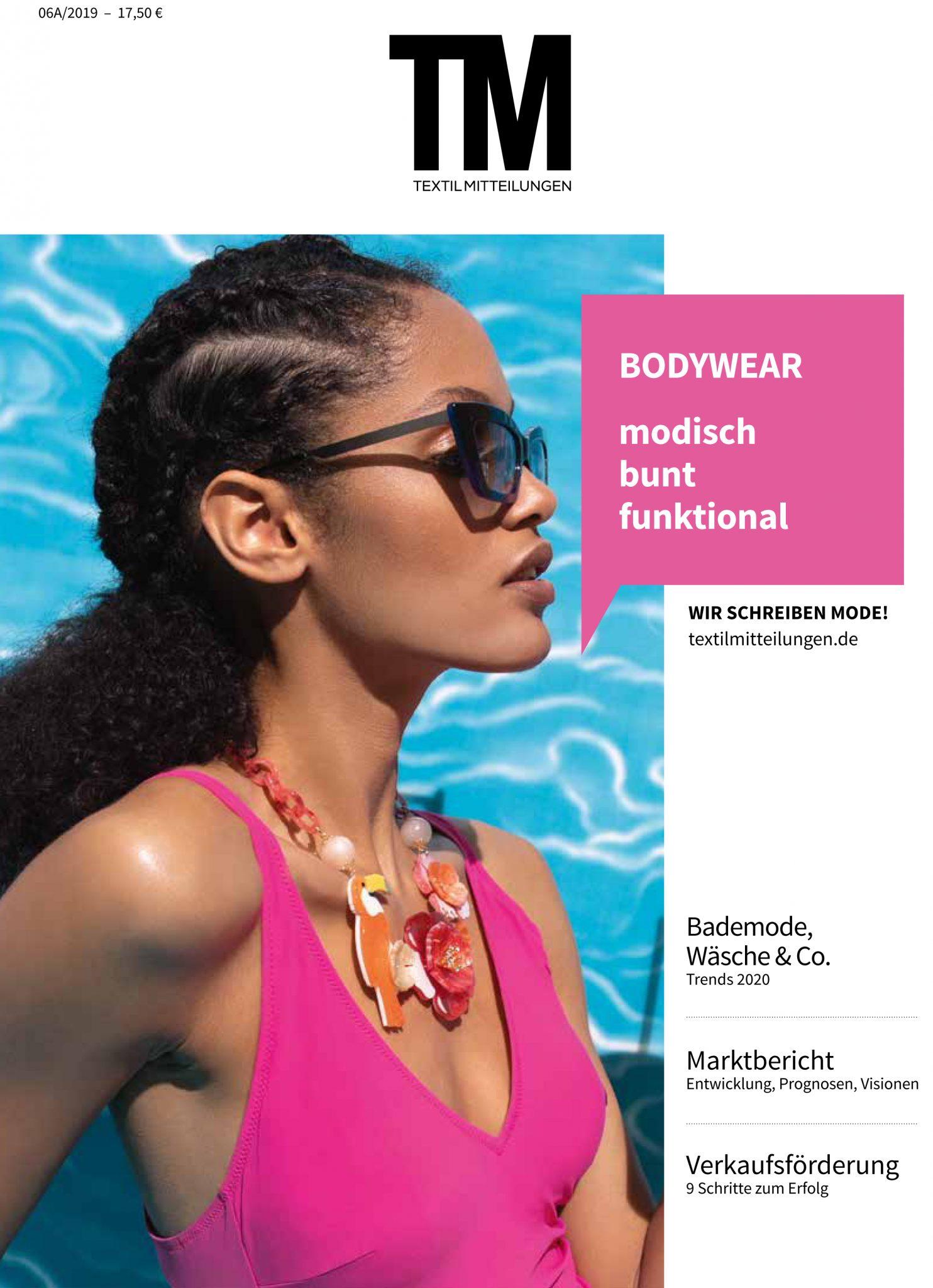 TextilMitteilungen Issue 06/19:  Plein Soleil